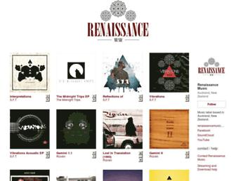 renaissancemusicnz.bandcamp.com screenshot