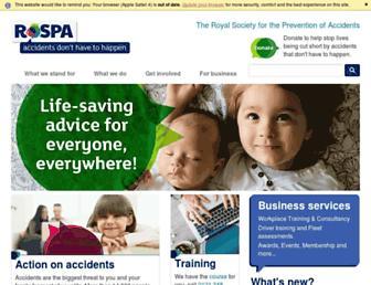 rospa.com screenshot