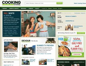 Thumbshot of Cookingchanneltv.com