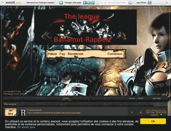 theleague-rappelz.xooit.be screenshot
