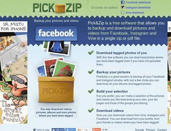 Thumbshot of Picknzip.com
