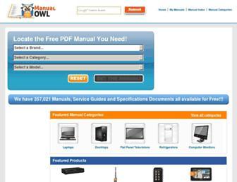 manualowl.com screenshot