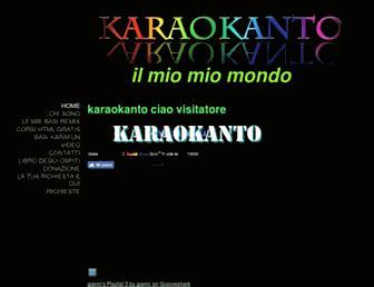 karaokanto.jimdo.com screenshot