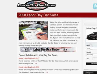 labordaycarsales.com screenshot