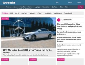 techradar.com screenshot