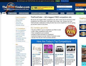 Thumbshot of Theprizefinder.com