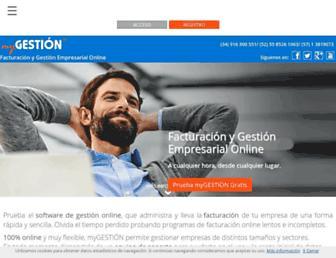 mygestion.com screenshot