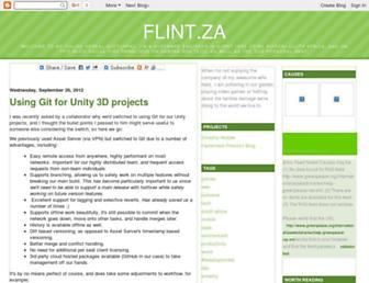 flintza.blogspot.com screenshot