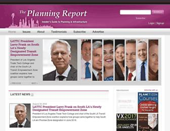 planningreport.com screenshot