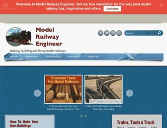 modelrailwayengineer.com screenshot