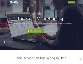 mailify.com screenshot