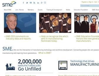 sme.org screenshot