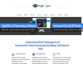highiqpro.com screenshot
