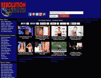 revolutionmyspace.com screenshot