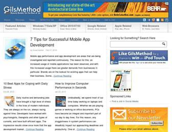 gilsmethod.com screenshot