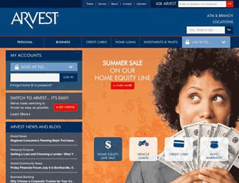 Thumbshot of Arvest.com