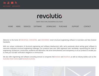 revolutio.com.au screenshot