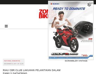 zonabikers.com screenshot