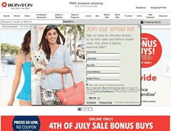 bonton.com screenshot