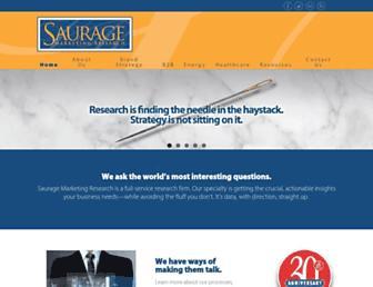 saurageresearch.com screenshot