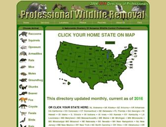 Thumbshot of Wildlife-removal.com