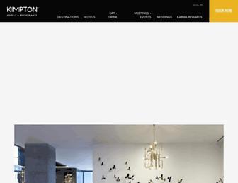 Thumbshot of Kimptonhotels.com