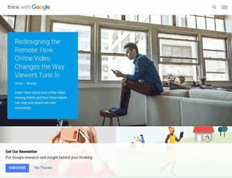 thinkwithgoogle.com screenshot