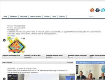 fudv.ro screenshot