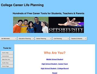 collegecareerlifeplanning.com screenshot