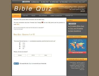 biblequiz.biz screenshot