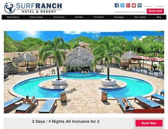 Thumbshot of Surfranchnicaragua.com