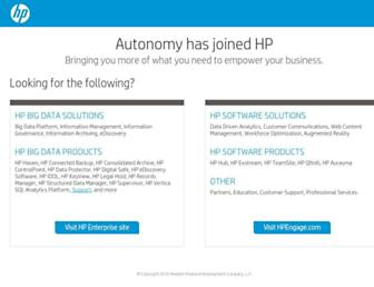 autonomy.com screenshot