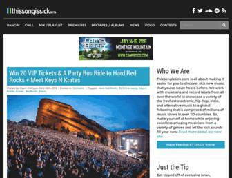 Thumbshot of Thissongissick.com