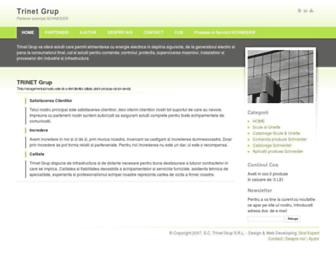 trinetgrup.ro screenshot