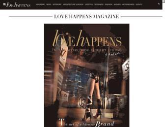 lovehappensmag.com screenshot