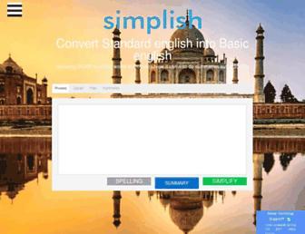 Thumbshot of Simplish.org