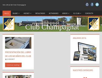 clubchampagnat.com screenshot
