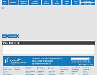 web.nashvillechamber.com screenshot