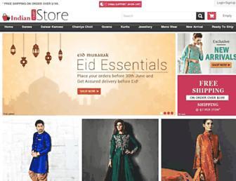 indianclothstore.com screenshot