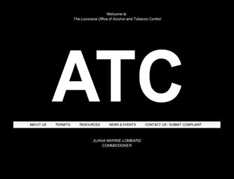 atc.rev.state.la.us screenshot