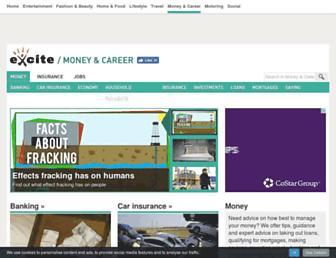 money.excite.co.uk screenshot