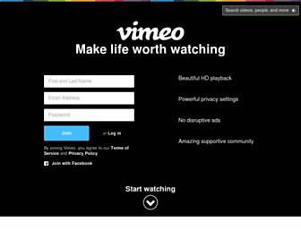 Thumbshot of Vimeo.com