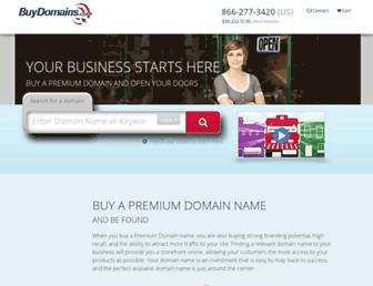 Thumbshot of Buydomains.com