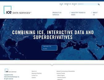 Thumbshot of Interactivedata.com