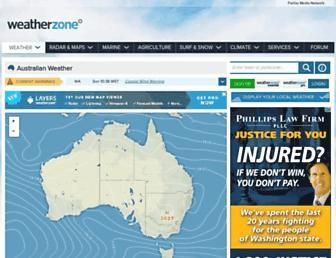 Thumbshot of Weatherzone.com.au