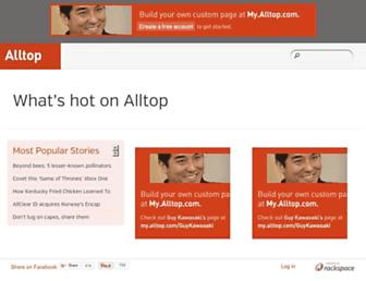 Thumbshot of Alltop.com