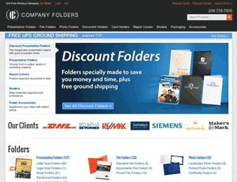 companyfolders.com screenshot