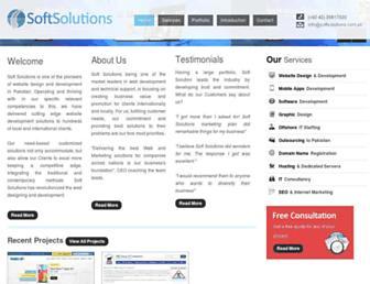 Thumbshot of Softsolutions.com.pk