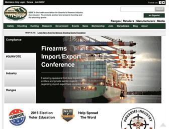 nssf.org screenshot