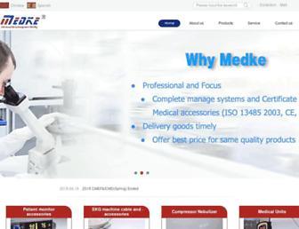 medke.com screenshot